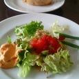 Orvietoのセットのサラダ