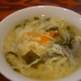 新福記のセットのスープ