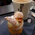 Fairycake Fairの塩キャラメルカップケーキとミルクティー