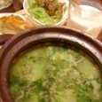 Bar de Ollariaの緑:野菜のおじや
