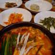 オモニ食堂の純豆腐チゲランチ