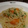 Dandolo Dadoloのスパゲッティーニ効果的に沢山の野菜(10種)が食べれるジェオヴェーゼ風
