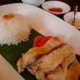 Singapore Seafood Republicの海南チキンライス