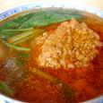 華都飯店の坦々麺