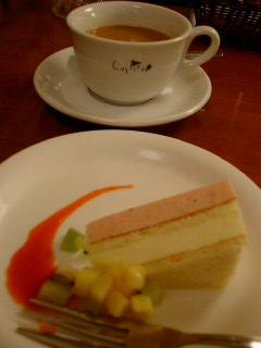 Caspita! Tokyoのセットのデザート