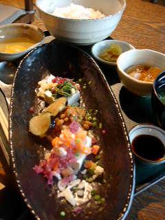 """Cuisine de HARUNOのはるの特製""""ばくだん""""御膳"""