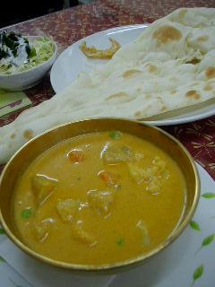 Indian Restaurant Durungの野菜カレー
