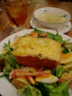 Le Moulin de la Galetteのパン・ペルデュランチ