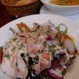 AUX ELICES DE HONGOの岩手味わい地鶏のサラダ