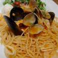 Mare Cucinaの産地直送海の幸のペスカトーレ