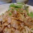 大北の豚肉のマヨネーズ炒め定食