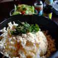 サバーイディーのオコゲも美味しい石焼ガパオ