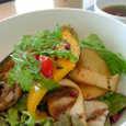 chef's Vの霧島豚と季節野菜の網焼き丼