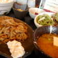味噌汁家の味噌豚生姜焼き定食