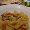 TestaRossaのコンキリエ いろいろ野菜ソース
