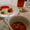 DINER MATEのひと口スープとひと口前菜