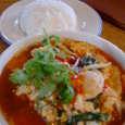 エラワン・タイの具だくさん春雨と野菜のスープ