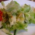 El Chateoのセットのサラダ