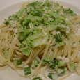 La BETTOLA per tuttiのいろいろお野菜のアンチョビ入りクリームソーススパゲッティ
