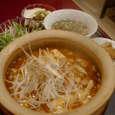 愛香楼の石鍋焼ごはん:麻婆