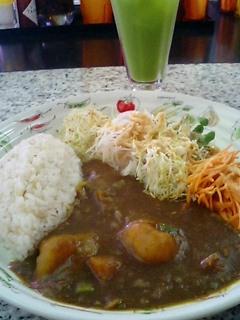 ぴーまんの野菜カレー