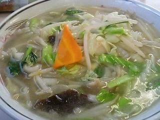 江川食堂のタンメン