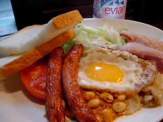 ダブリナーズのIrish Breakfast