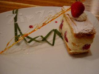 ZIP ZAPのケーキ