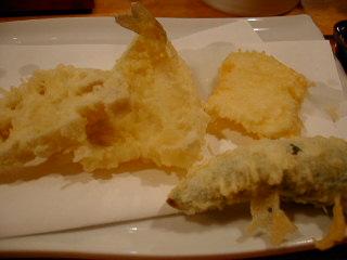 権八の天ぷら定食2