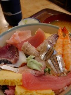 福寿司の江藤丼