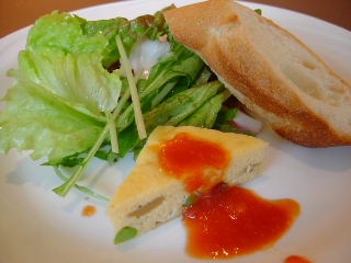 OTTIMO Seafood gardenの前菜・サラダ