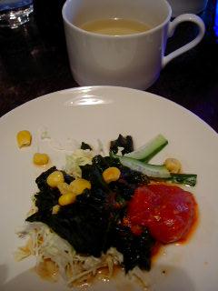 レンゴクのセットのサラダ