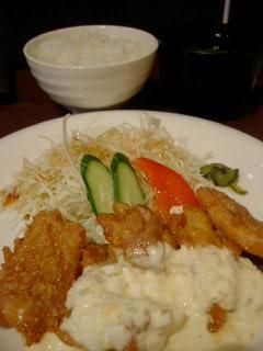 鶏華のチキン南蛮定食