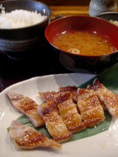 味噌鐵 カギロイの鹿児島産霧島豚の味噌漬け焼き