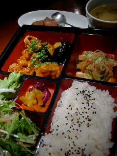 ごはんバー 和火家 櫻の本日のお弁当