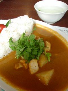海南鶏飯食堂2のシンガポールスタイル辛酸チキンカレー