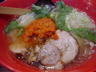 横濱元町 本丸亭の赤丸塩らー麺